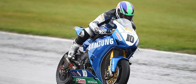 BSB Championship leader Jon Kirkham - Photo Credit: Pirelli