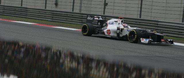 Kamui Kobayshi - Photo Credit: Sauber Motorsport AG
