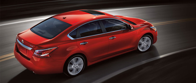 The Nissan Altima Photo credit: Nissan Motor Company