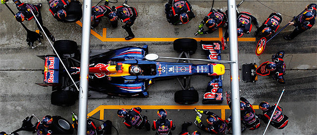 Double Champion Vettel has had a shaky start to the season - Photo: Red Bull Racing