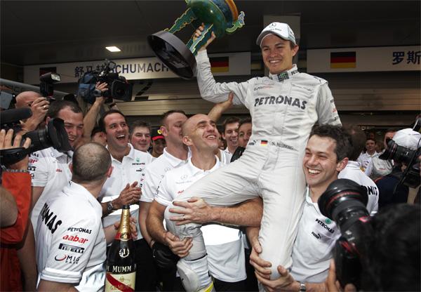 It took Nico Rosberg 111 Grand Prix to take his maiden win - Photo: Mercedes AMG