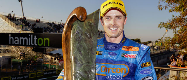 Winterbottom claims his first win of 2012 Photo credit: Ford Performance Racing