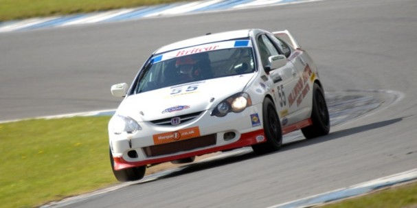 Eurotech Honda Integra, Britcar Production Cup (Photo Credit: Chris Gurton Photography)