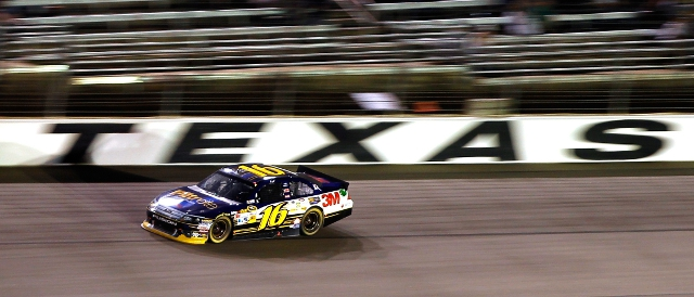 Biffle cruises to the finish at Texas Motor Speedway (Photo Credit: Todd Warshaw/Getty Images)