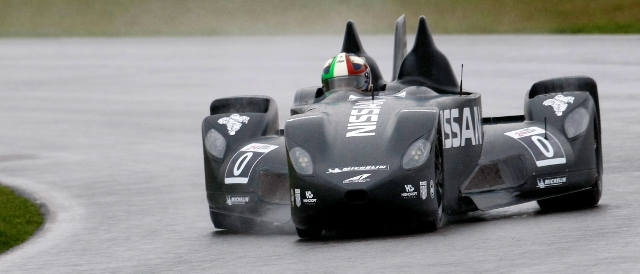 Marino Franchitti braved the wet conditions in the morning (Photo Credit: Highcroft Racing)