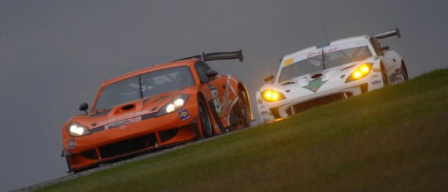 Team LNT's orange Ginetta G55 won the three hour race (Photo Credit: Chris Gurton Photography)