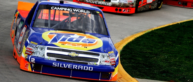 Kevin Harvick dominated the Camping World Truck Series race (Photo Credit: Jerry Markland/Getty Images for NASCAR)