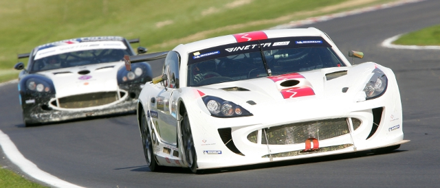 Ingram's new G55 in action at Brands Hatch (Photo Credit: Jakob Ebrey Photography)