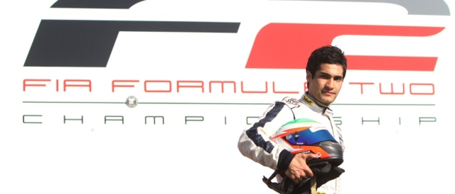 Kourosh Khani - Photo Credit: FIA Formula Two Championship