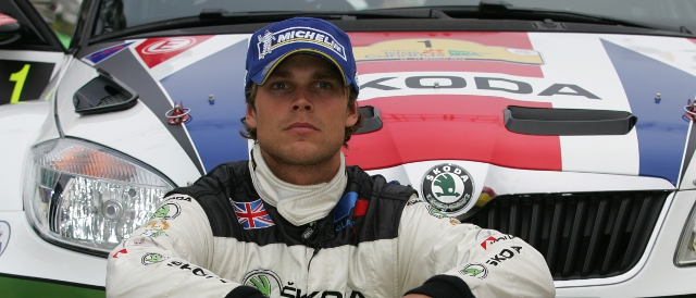 Skoda UK man Andreas Mikkelsen (Photo Credit: ircseries.com)