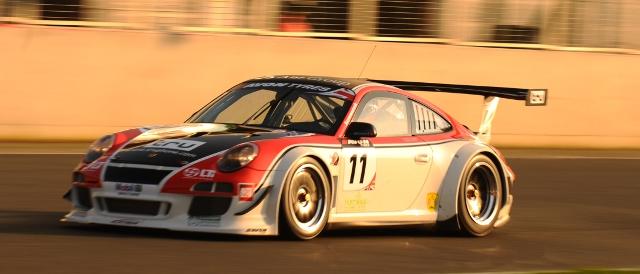 Motorbase's British GT Porsche ran during the series' media day last month (Photo Credit: Jakob Ebrey)