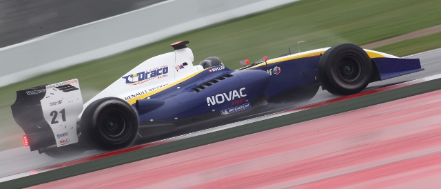 Nico Muller topped the second day of testing for Draco (Photo Credit: Renault Sport)