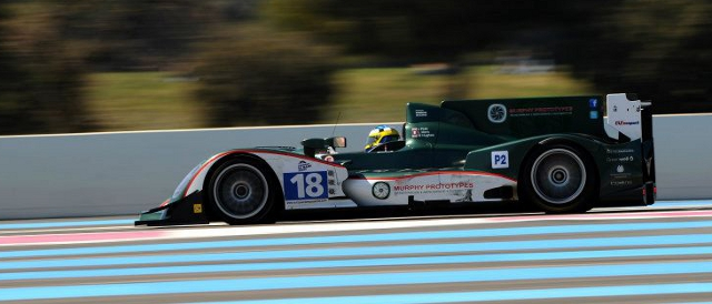 Murphy Prototypes' entry in action at the first Le Mans Series race of the year at Paul Ricard (Photo Credit: Murphy Prototypes)