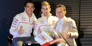 Michele Pirro, Alvaro Bautista & Fausto Gresini - Photo Credit: MotoGP.com