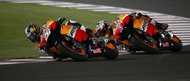 Dani Pedrosa and Casey Stoner - Photo Credit: Repsol Honda