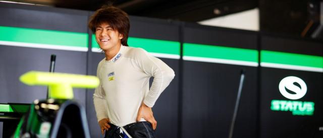 Kotaro Sakurai - Photo Credit: Drew Gibson / GP3 Series Media Service