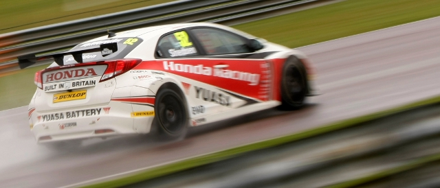 Gordon Shedden topped FP2, as he did FP1 (Photo Credit: btcc.net)