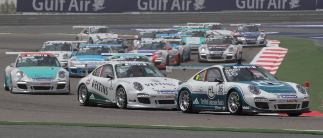 Porsche Mobil 1 Supercup Bahrain - Photo Credit: Porsche AG