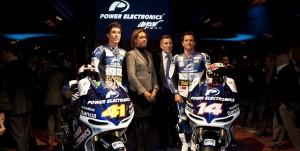The Power Electronics Aspar Team - Photo Credit: MotoGP.com
