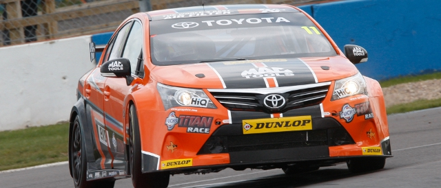 Frank Wrathall at Donington Park (Photo Credit: btcc.net)