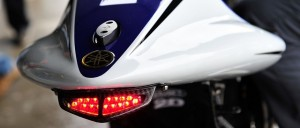 The Yamaha rain light - Photo Credit: MotoGP.com