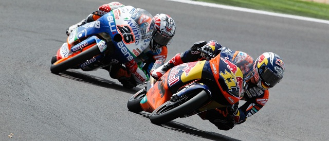 Sandro Cortese and Maverick Vinales - Photo Credit: MotoGP.com