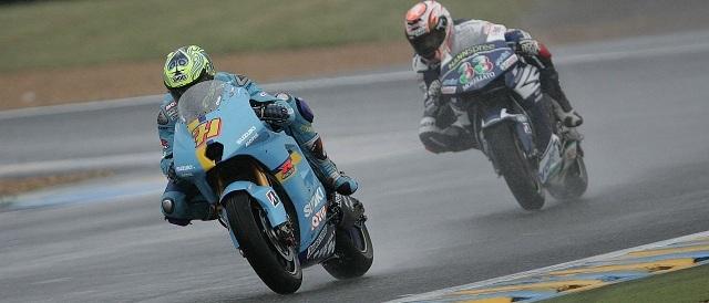 Chris Vermeulen & Marco Melandri - Photo Credit: MotoGP.com