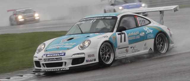 Ahmad Al Harthy doubled his championship lead in the Thruxton rain - Photo: Jakob Ebrey Photography