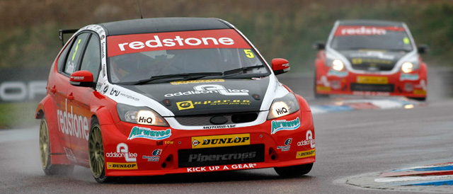 Aron Smith and Liam Griffin at Thruxton - Photo: PSP Images