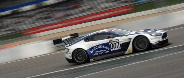 Jonny Adam brought the Aston Martin Vantage GT3 home for its first race win (Photo Credit: Chris Gurton Photography)