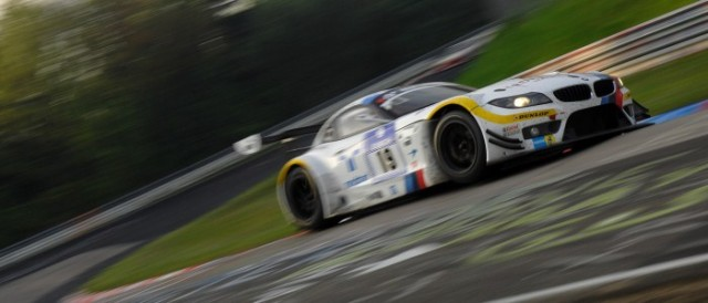 The no.19 Team Schubert Z4 rounds the Karussell (Photo Credit: Chris Gurton Photography)
