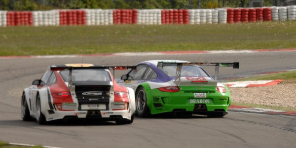 British GT Porsches, Nurburgring (Photo Credit: Chris Gurton Photography)