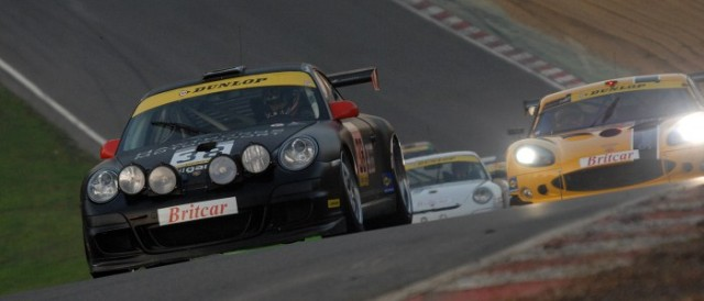 Hawthorns Motorsport's Porsche at the 2011 Britcar season finale at Brands Hatch (Photo Credit: Chris Gurton Photography)