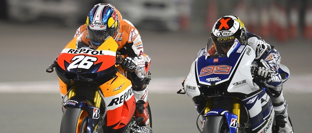 Dani Pedrosa and Jorge Lorenzo - Photo Credit: MotoGP.com