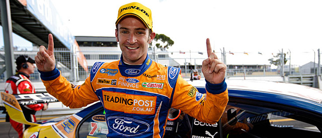 Will Davison takes race two of the Tradingpost Perth Challenge Photo credit: Ford Performance Racing