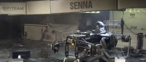 The Williams Garage Was Gutted By A Huge Fire After The Spanish Grand Prix