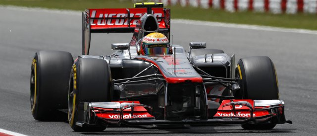Lewis Hamilton finished the session on pole position, but was disqualified hours later - Photo Credit: Vodafone McLaren Mercedes