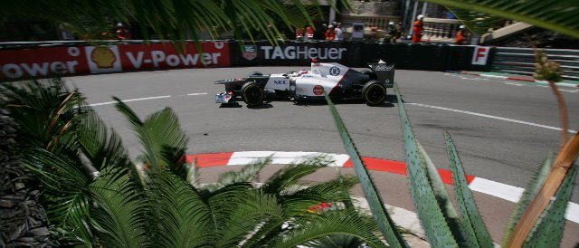 Kamui Kobayashi was the fastest of the Sauber drivers today - Photo Credit: Sauber Motorsport AG