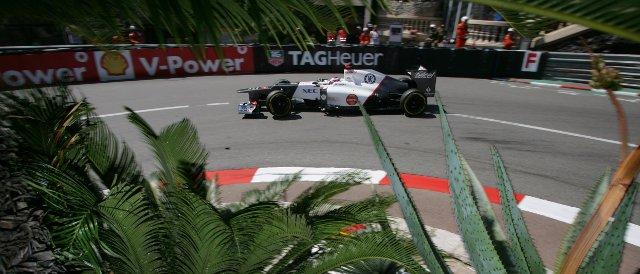 Kamui Kobayashi was the fastest of the Sauber drivers today - Photo Credit: Sauber Motorsport AG