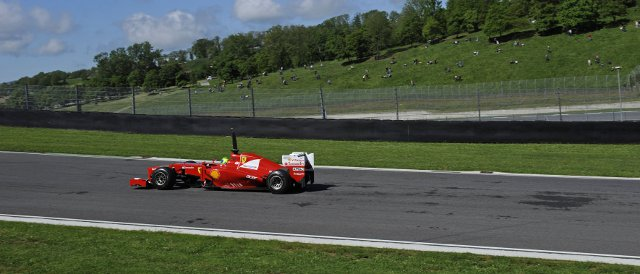 """Mugello...is a sensational track,"" was the verdict of Felipe Massa after returning here to drive a Ferrari F1 car for the first time since the new testing regulations were introduced - Photo Credit: Ferrari"