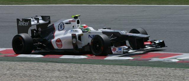 Sergio Perez - Photo Credit: Sauber