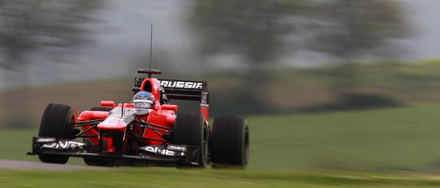 Charles Pic - Photo Credit: Marussia F1 Team