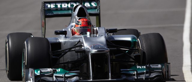 Schumacher completed 144 laps on Wednesday in Mugello - Photo Credit: Mercedes AMG Petronas