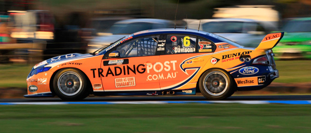 Will Davison claims victory at Phillip Island Photo credit: Ford Performance Racing