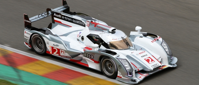 Allan McNish was second fastest in the second practice in his Audi R18 e-tron quattro (Photo Credit: fiawec.com)