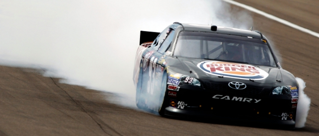 BK Racing's regular drivers during 2012 have been Travis Kvapil (pictured) and Landon Cassill (Photo Credit: Todd Warshaw/Getty Images for NASCAR)