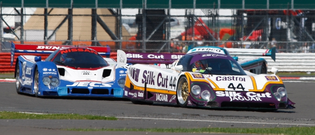 Group C cars will star again at Silverstone Classic (Photo Credit: Jakob Ebrey Photography)