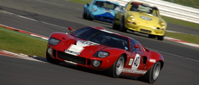 2011 Silverstone Classic race action (Photo Credit: Chris Gurton Photography)