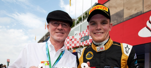 Derek Daly, Conor Daly (Photo Credit: Daniel Kalisz/GP3 Media Service)