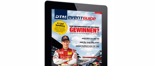 The digital version of the DTM Event Guide - Photo Credit: DTM.com